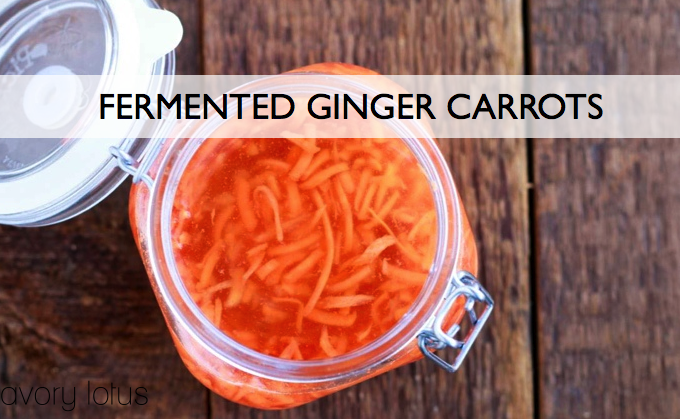 fermented carrots, fermented foods