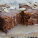 Grain-free Sweet Potato Bars with Coconut Honey Drizzle