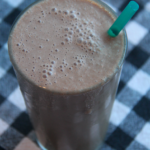 Chocolate Almond Butter Banana Smoothie