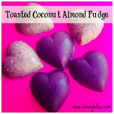 Toasted Coconut Almond Fudge