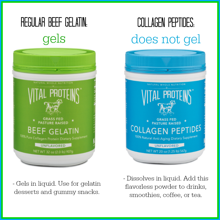 vital proteins gelatin and collagen peptides