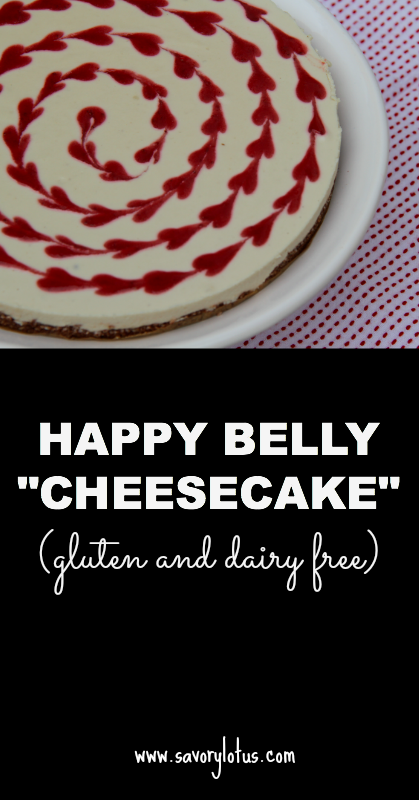 Happy Belly Cheesecake (gluten and dairy free)