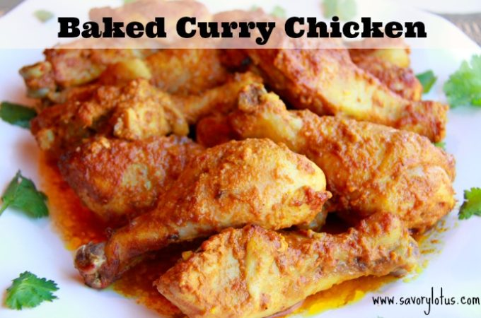 Baked Curry Chicken