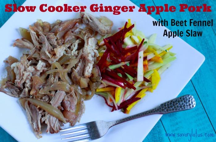 ginger pork main