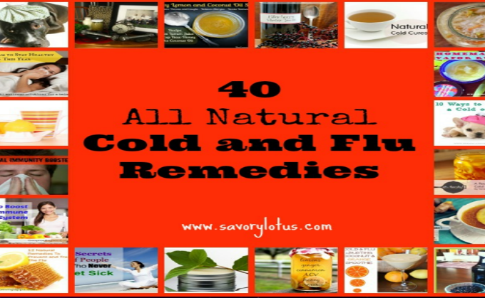 40 All Natural Cold and Flu Remedies