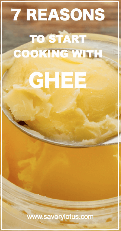 close up of a jar of ghee