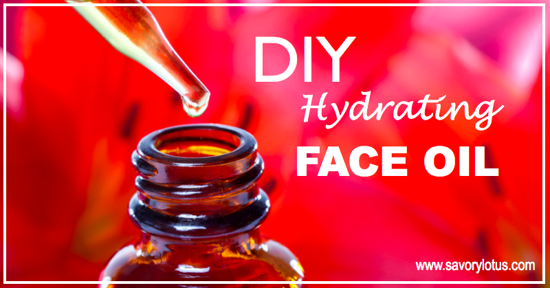 DIY Hydrating Face Oil | savorylotus.com