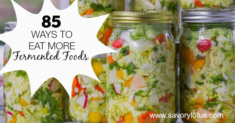jars of colorful sauerkraut