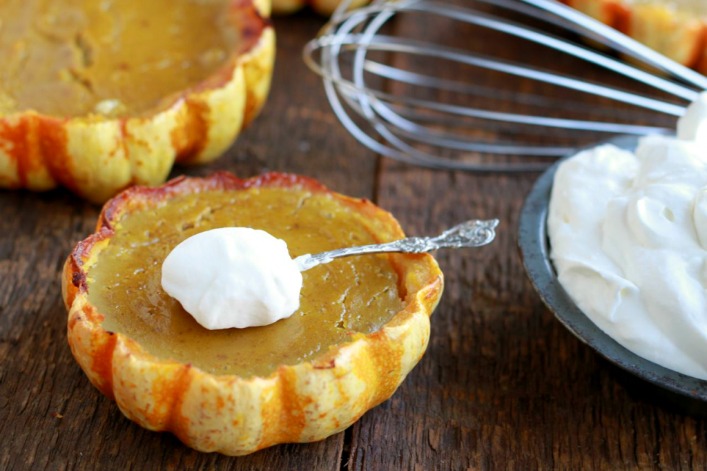 winter squash pies, pies, mini pies, paleo