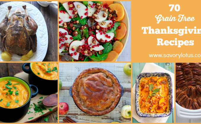 paleo thanksgiving, gluten free