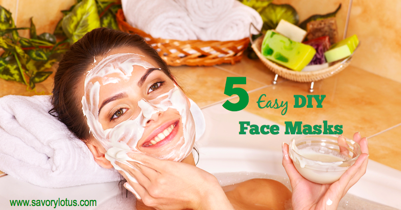 DIY face masks, natural beauty, essential oils