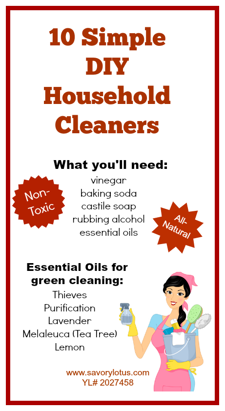 green cleaning, non-toxic cleaning, DIY, essential oils