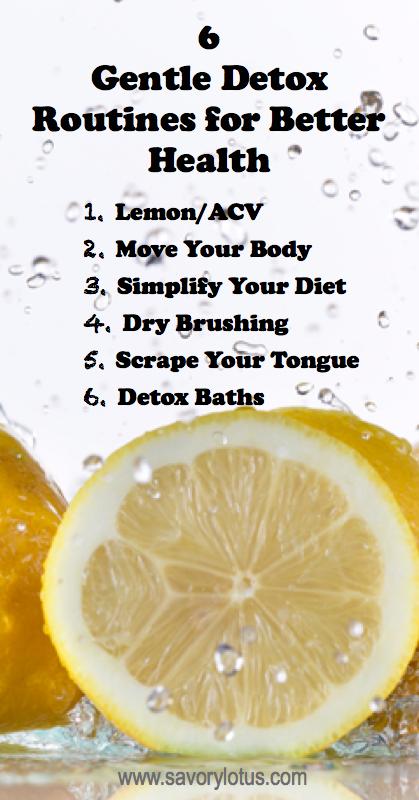 dry brushing detoxing, help with detoxing