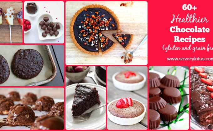healthy chocolate, valentine's day