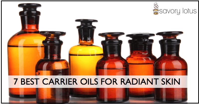 7 Best Carrier Oils for Radiant Skin - Savory Lotus