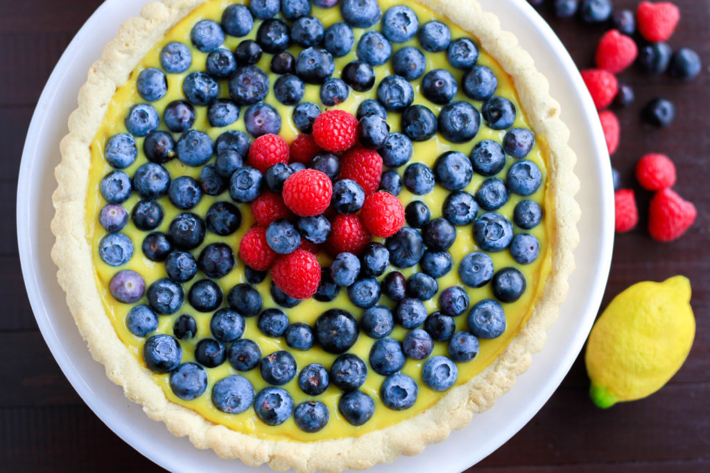 lemon curd. tart, grain free, gluten free, paleo