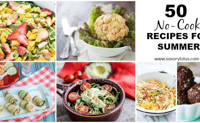 no-cook recipes. paleo. summer recipes