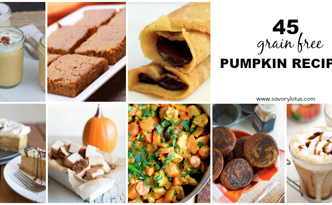 pupkin recipes, grain free, paleo, gluten free