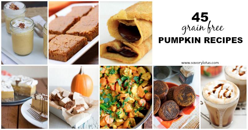 pupkin recipes, grain free, paleo, gluten free