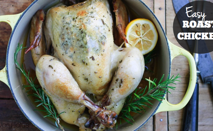 how to roast a chicken, whole chicken. roast chicken