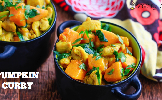 paleo, pumpkin curry, coconut. gluten free