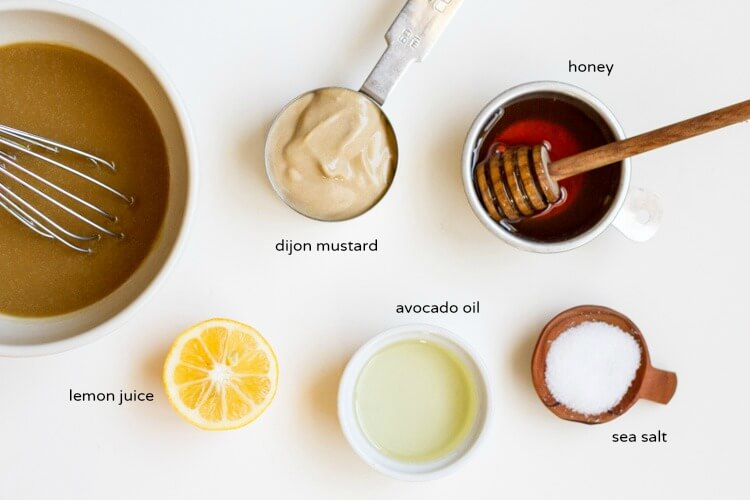 Healthy Honey Mustard Dressing  www.savorylotus.com