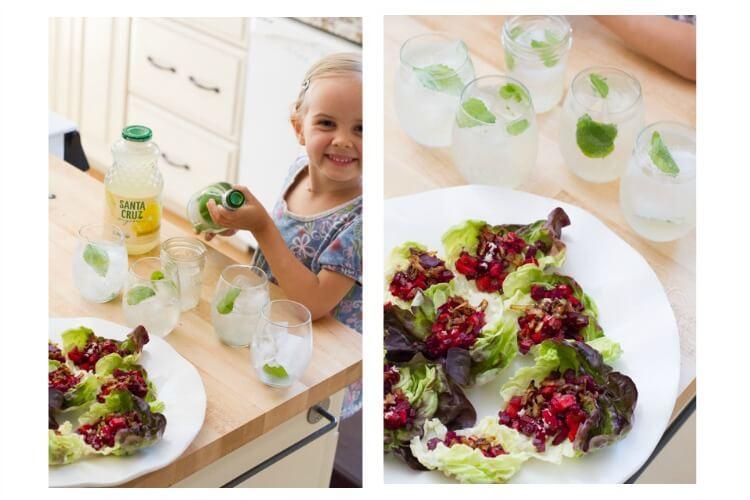 Beet Tartare Lettuce Cups (with crispy shallots) ~~~ www.savorylotus.com