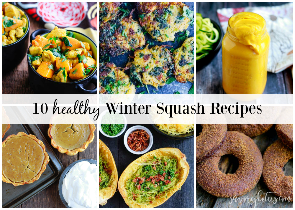 photos of 10 Healthy Winter Squash Recipes