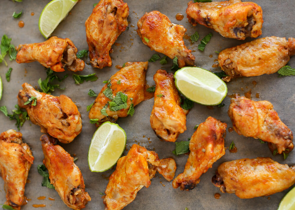 Red Curry Chicken Wings from Real Food Slow Cooker Recipes | www.savorylotus.com