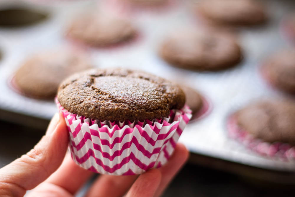 The Best Chocolate Cupcake Recipe (gluten free and grain free) \ www.savorylotus.com