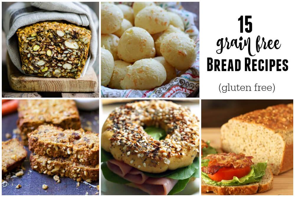 15 Grain Free Bread Recipes (gluten free) | www.savorylotus.com