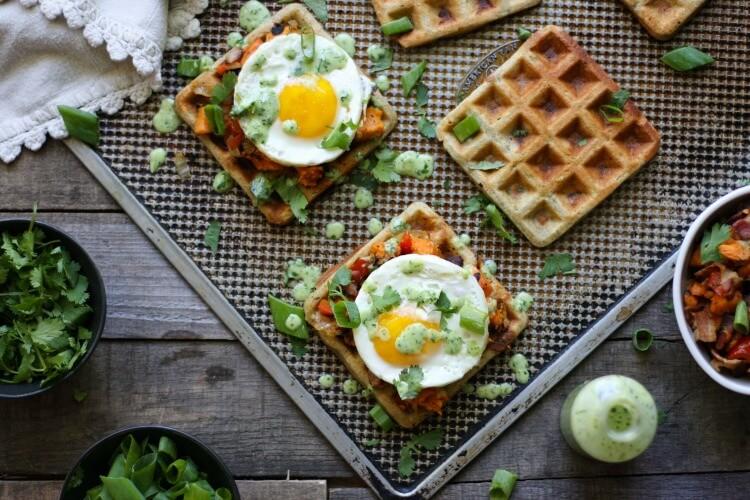 Savory Waffle Sandwich