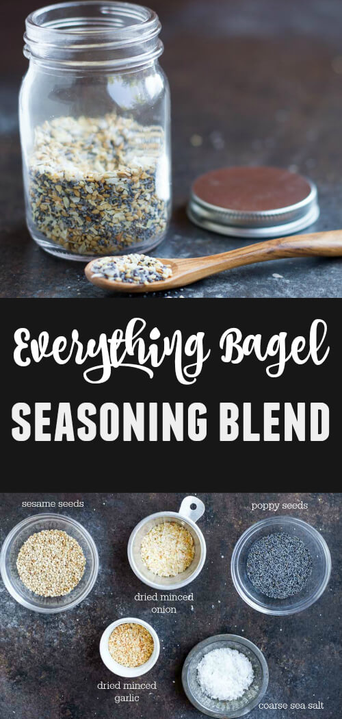 Everything Bagel Seasoning Blend - www.savorylotus.com