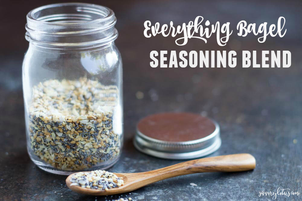 Everything Bagel Seasoning Blend | www.savorylotus.com