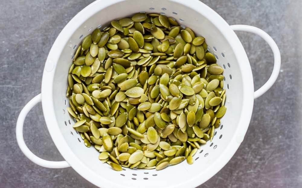 stariner with pumpkin seeds