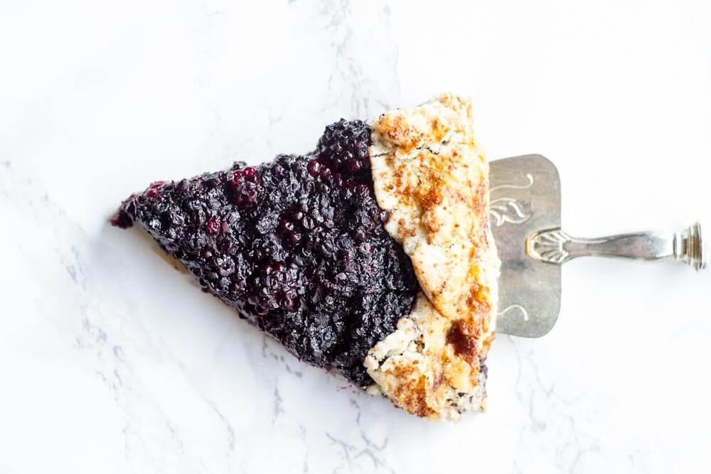 Blackberry Ginger Galette (gluten free and paleo) ~~~ www.savorylotus.com
