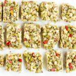 No Bake Tahini Honey Bars (gluten free, paleo),,, www.savorylotus.com
