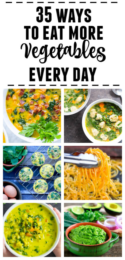 35 Ways to Eat More Vegetables Every Day - www.savorylotus.com