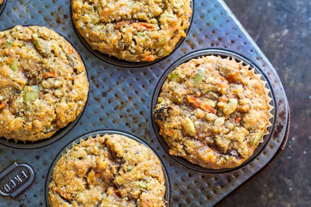 Loaded Breakfast Muffins (gluten free and paleo) \\ www.savorylotus.com