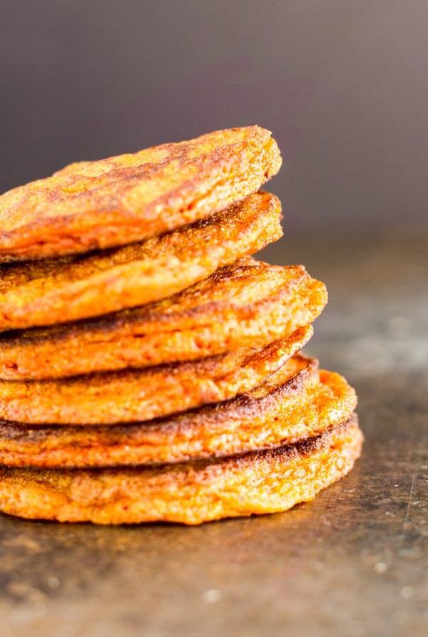 Turmeric Spice Pancakes (gluten free and nut free) --- www.savorylotus.com