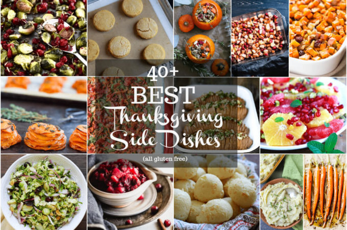 40 Best Thanksgiving Side Dishes (gluten free) | www.savorylotus.com