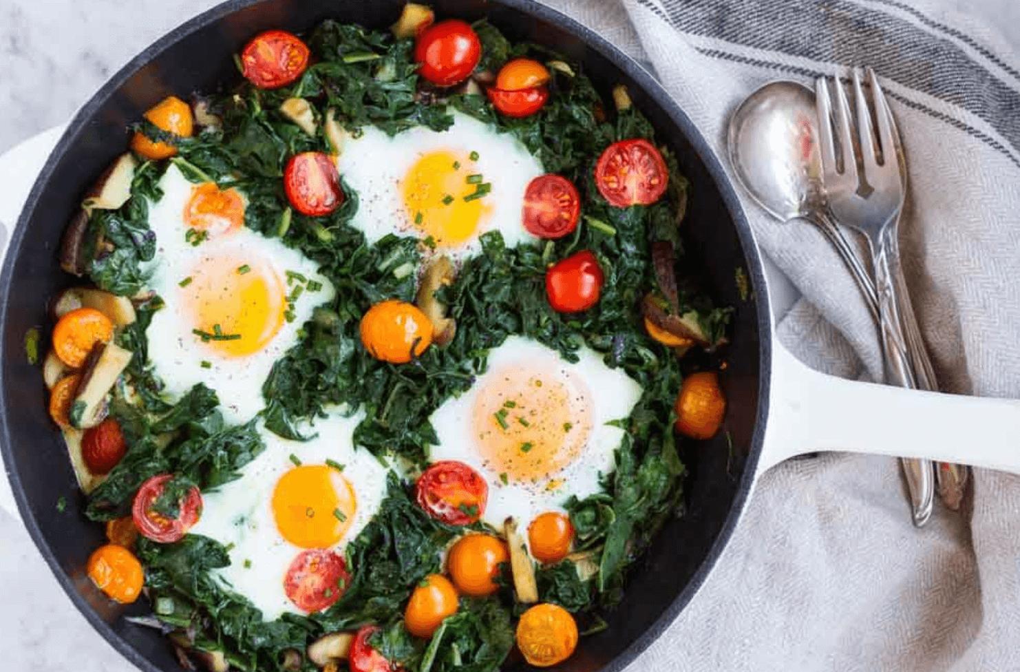 Easy Baked Eggs