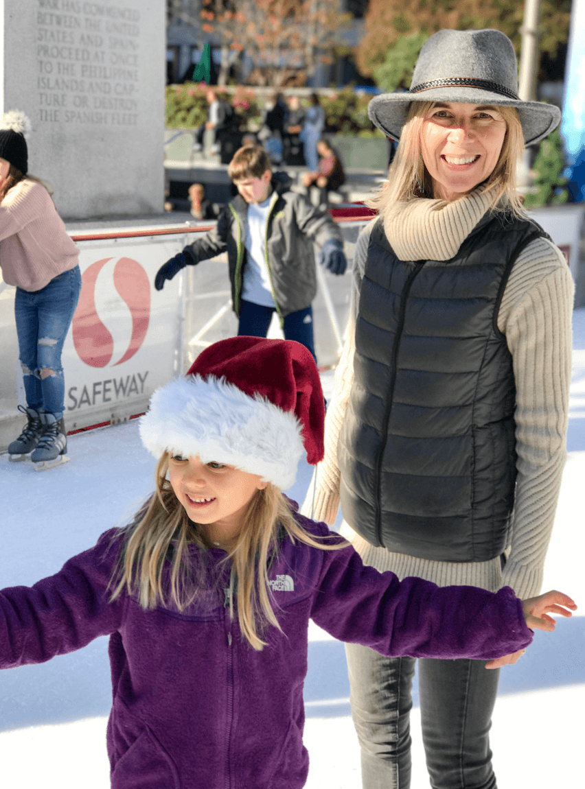 5 More Things I've Learned from Having Lyme Disease (part 2) - ice skating in Union Square