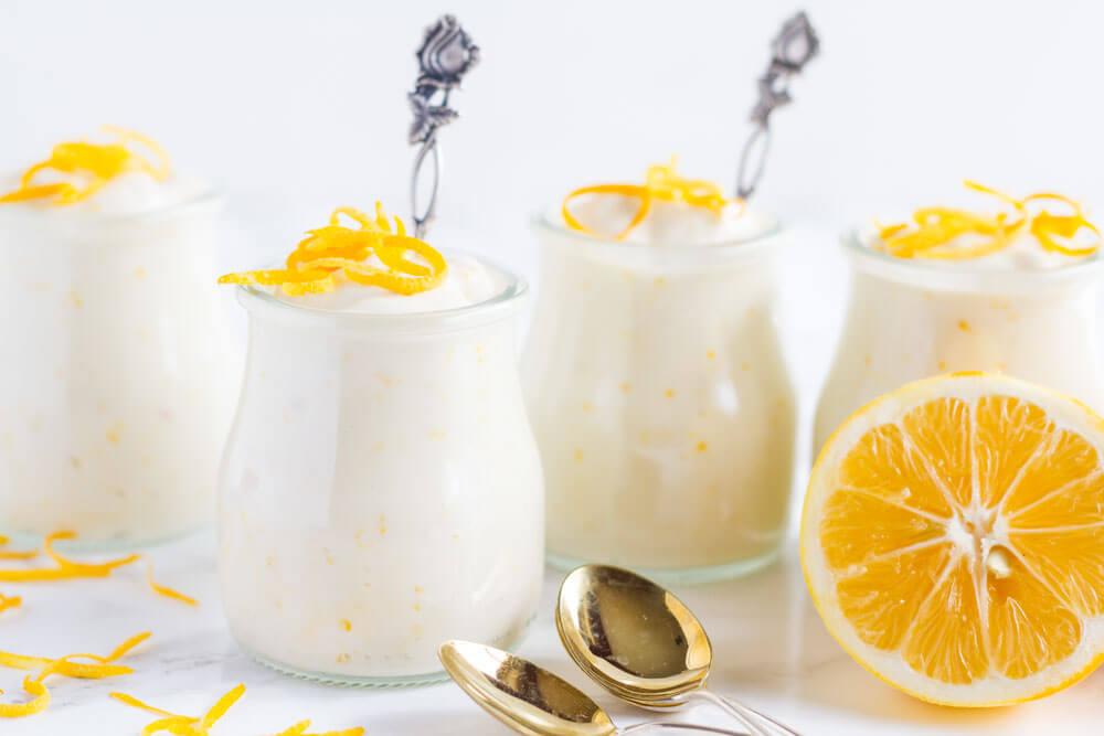 Meyer Lemon Pudding (dairy free) \\\ www.savorylotus.com