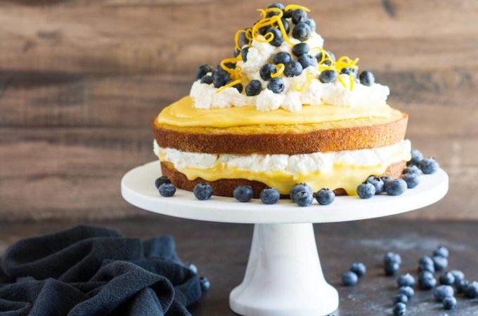 Coconut Flour Lemon Cake (gluten free) ~~~ www.savorylotus.com