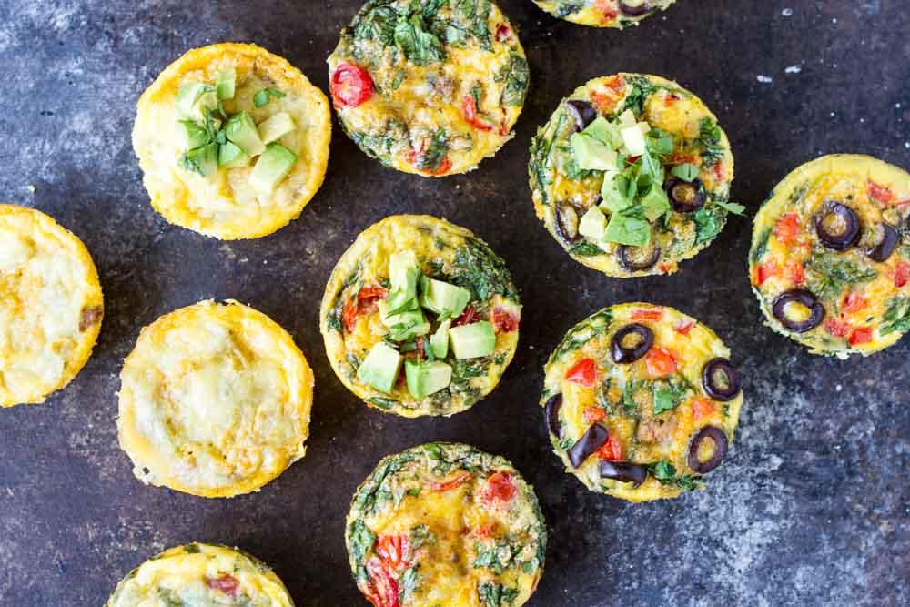 Taco Egg Muffins -- www.savorylotus.com
