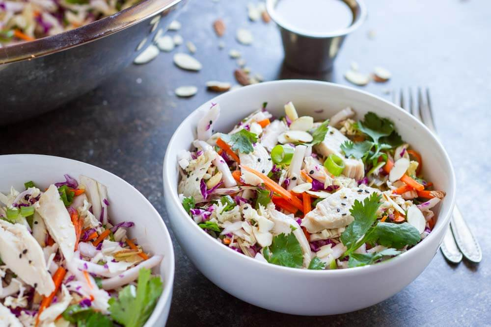 15 Minute Chinese Chicken Salad (gluten free and paleo) ~ www.savorylotus.com
