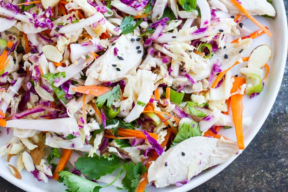 15 Minute Chinese Chicken Salad (gluten free and paleo) --- www.savorylotus.com