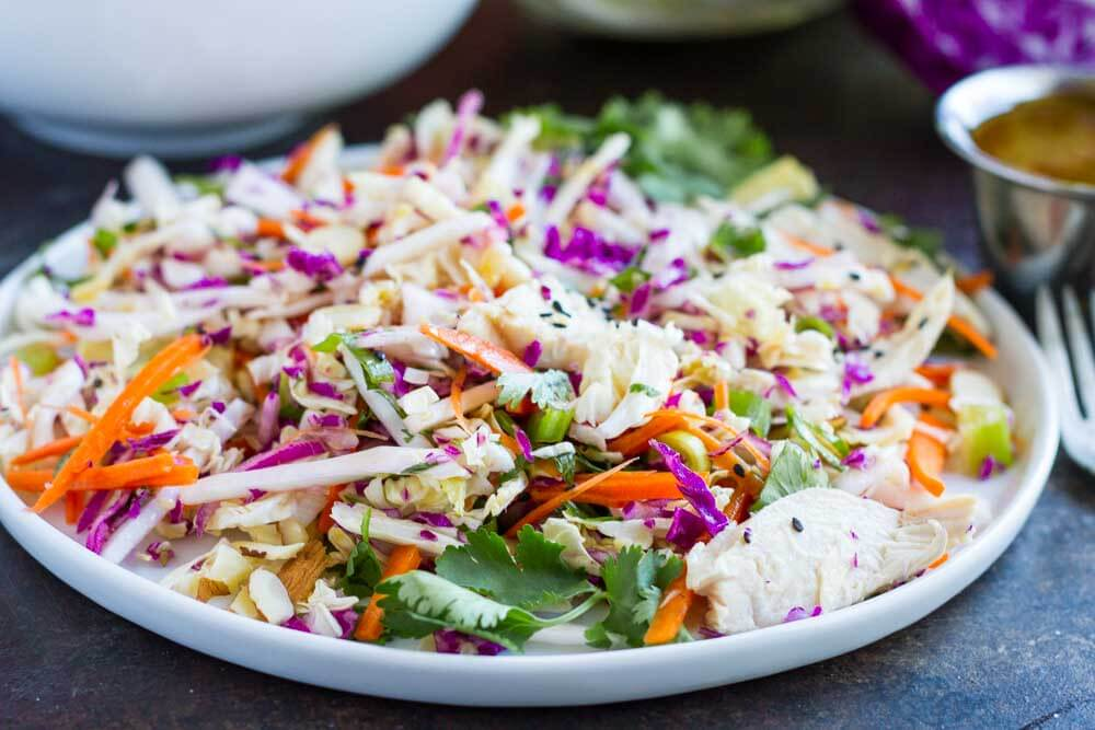 15 Minute Chinese Chicken Salad (gluten free and paleo) \\\\ www.savorylotus.com