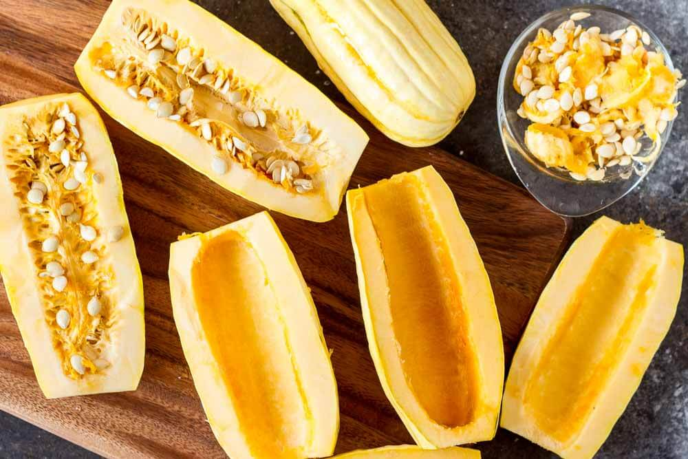 How to Cook Delicata Squash (with 4 flavor combinations) --- www.savorylotus.com